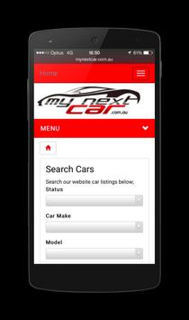 My Next Car apk screenshot