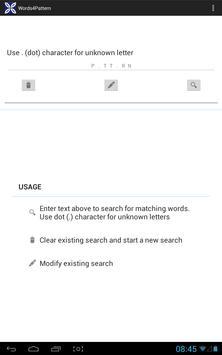 Words 4 Pattern apk screenshot