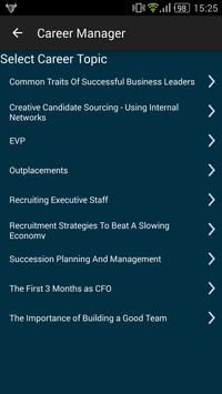 SCG Career Manager apk screenshot
