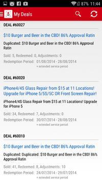 Scoopon Deal Tracker apk screenshot