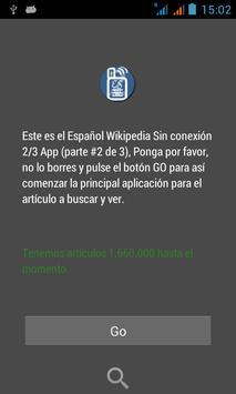Spanish Wikipedia Offline 2/3 poster