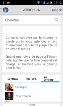 French Wikipedia Offline ABS poster