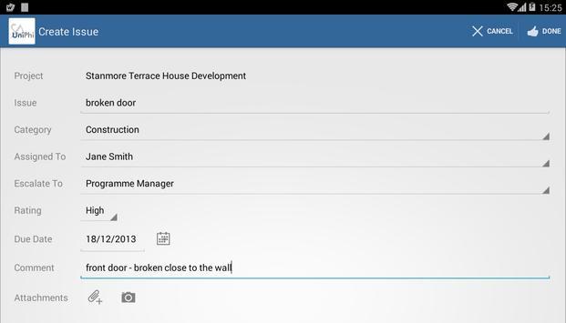 UniPhi OnSite apk screenshot