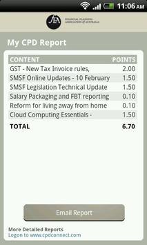CPDconnect FPA apk screenshot