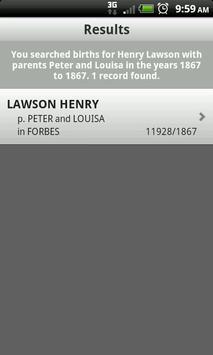 Family History apk screenshot