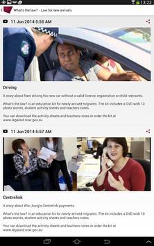 Legal Aid NSW apk screenshot