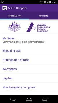 ACCC Shopper poster