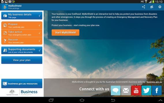 MyBizShield apk screenshot