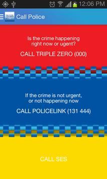 Policelink (Queensland) poster