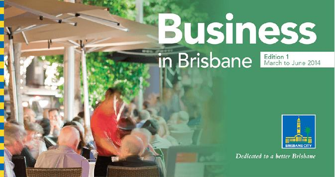 Business in Brisbane poster