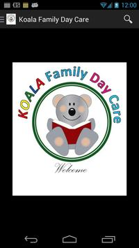 Koala Family Day Care poster