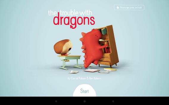 The Trouble with Dragons [AUS] poster