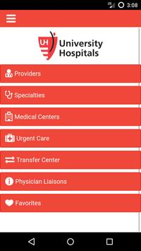 UH Physician Directory OLD apk screenshot