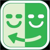 Chat AZAR görüntülü sohbet Tip icon