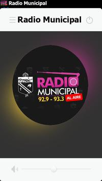 FM RADIO MUNICIPAL LA RIOJA poster