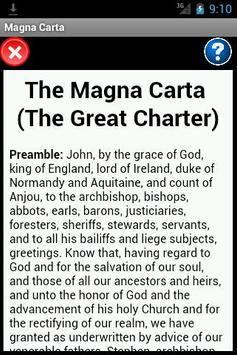 Magna Carta Reader poster