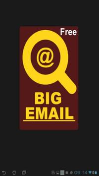 BIG EMAIL - Free poster