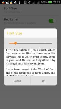 Modern NLT Bible poster