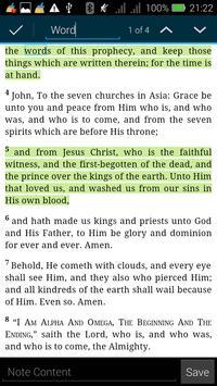 The Revised Standard Bible apk screenshot
