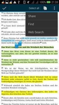 Die Bibel : The German Bible apk screenshot