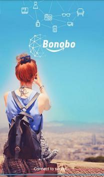 BONOBO Mobile E-Commerce poster