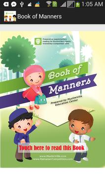 Book of Manners poster