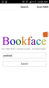 Bookface - Cheapest Textbooks poster