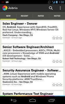 Jobrio Job Search poster