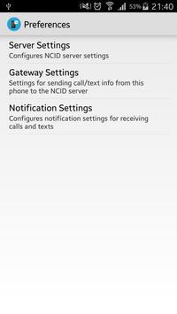NCID Sender apk screenshot
