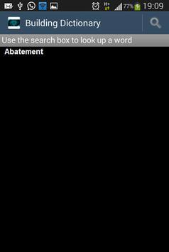 Building dictionary En-Ru apk screenshot