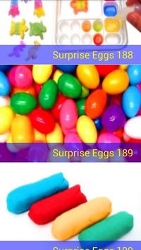 Surprise Eggs unboxing toys poster