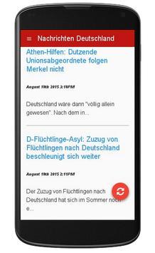 Nachrichten Deutschland apk screenshot