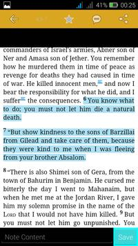 Revised Standard Version Bible apk screenshot