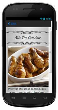 BBQ Chicken And Coleslaw apk screenshot