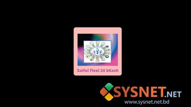 SaifulFlexi Bkash NET apk screenshot