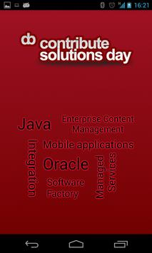 Contribute Solutions Day poster