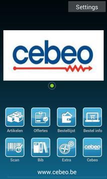 Cebeo App poster