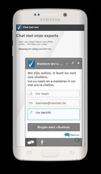 VanRoey.be apk screenshot
