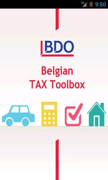 Belgian TAX Toolbox poster