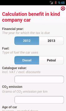 Belgian TAX Toolbox apk screenshot