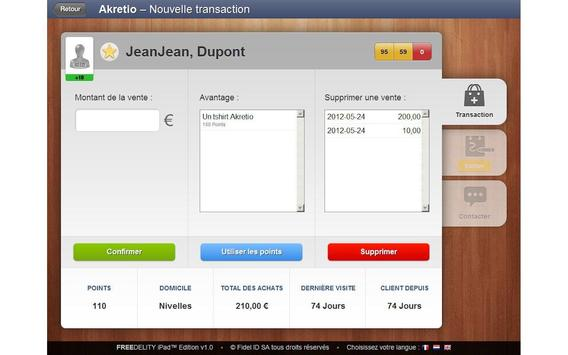 Freedelity Merchant apk screenshot