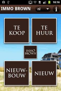 Immo Brown Knokke poster