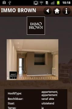 Immo Brown Knokke apk screenshot