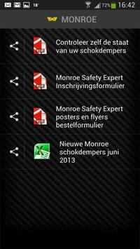 Monroe Safety Expert apk screenshot