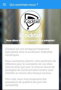 iCocktail - Web Print & Design poster