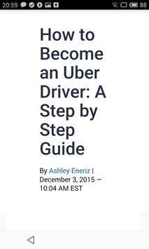 Step-by-step Guide for Uber poster