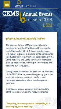 LSM CEMS Annual Event 2014 apk screenshot