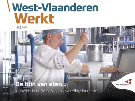 West-Vlaanderen werkt poster