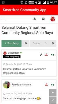 Smartfren Community Apps apk screenshot