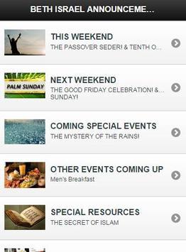 Beth Israel Worship Center apk screenshot